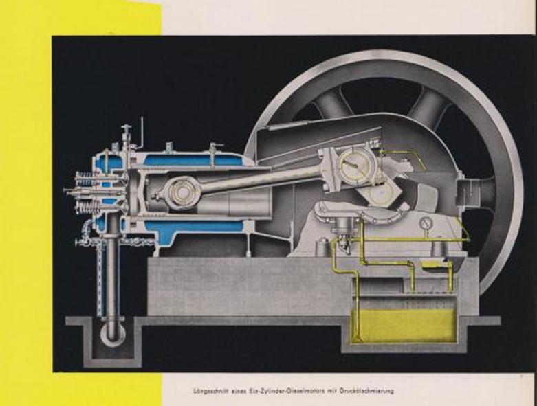 Herford Motor Schnittbild
