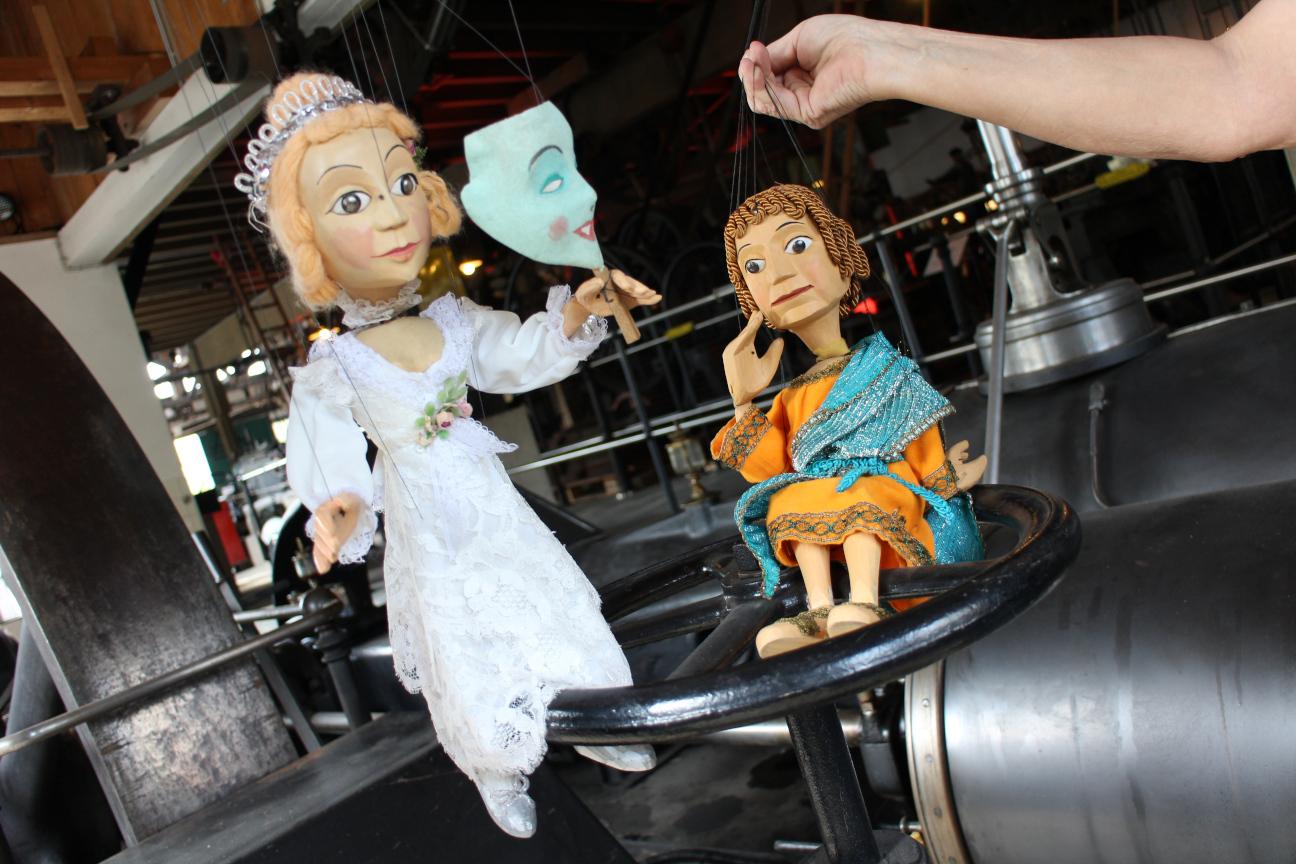 Die Puppen sind los… Workshop für Kinder