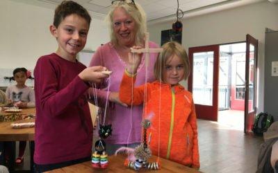 Marionettenworkshop | Fantasiegestalten im Technikmuseum