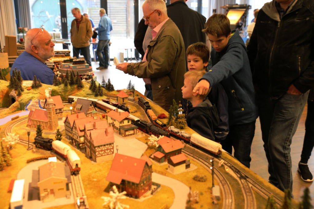 Modelleisenbahn Ausstellung Gerhard-Kritzer-Saal