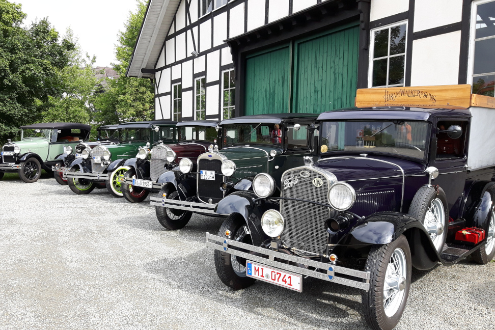 Ford Model A – Sommerfernfahrt 2019