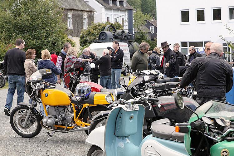 Oldtimer und Motorräder im Technikmuseum Freudenberg 1